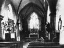 Innenansicht der Kirche vor der Erweiterung 1929